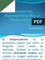 Pautas para elaborar Fotorreportaje