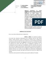 Casacion 599-2018 diligencias prelimnares alcances, plazo