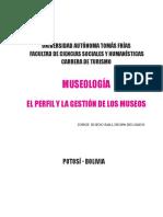 TEXTO DE MUSEOLOGIA