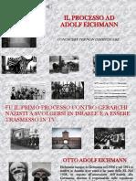 Giornata della memoria. Il Processo Ad Adolf Eichmann