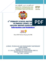 PSMO 2011 INFORMATION AND GUIDELINES