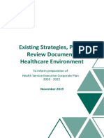 hse-corporate-plan-existing-strategies-plans-review-documents-healthcare-environment-november-2019