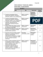 Dosificación didáctica_TS_CyT_Química_3°