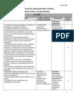 Dosificación didáctica_TS_LM-Español_3°