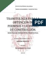 Tramitología para la obtención de permisos y licencias de construcción