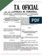 GO 5021 Normas para la Clasificación y el Control de la Calidad de los Cuerpos de Agua