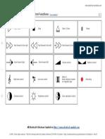 Symbols of Audio & Video Control Functions