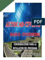 1.-Requisitos Para Civil 3d