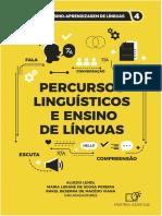 Percursos linguisticos e ensino de lingua