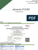 Actualización CLUES