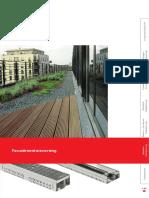 Prospekt Fassadenentwaesserung