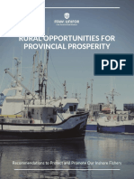 Rural Opportunities for Provincial Prosperity - FFAW Suggestions