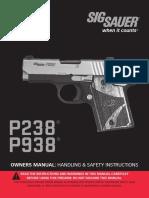 Sig P238 - P938 Owner Manual