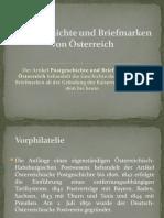 Postgeschichte und Briefmarken von Österreich