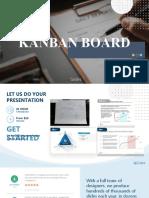 Kanban Board Creative