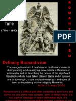 Romanticism - Revision