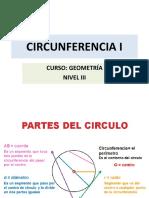 CIRCUNFERENCIA I NIVEL 3