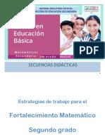 Cuadernillo del Docente de Secuencias Segundo PLANEA 2017-2018