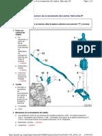 cuadro de montaje- mecanismo de accionamiento del cambio, fabricante zf