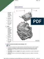 cuadro de montaje unidad mecatronica