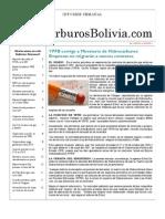 Hidrocarburos Bolivia Informe Semanal Del 14 Al 20 Febrero 2011