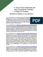 Decreto-Supremo-N°-016-2009-MTC-Código-de-Transito