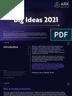 ARK Invest BigIdeas 2021