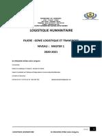 introduction générale Logistique humanitaire