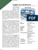 McDonnell Douglas FA-18 Hornet