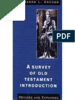 Gleason-L.-archer-Jr-Un Estudio Del Antiguo Testamento - Introducción