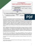 Melhoria no Método Vector Fitting para determinação de Modelos Caixa-Preta em Transformadores