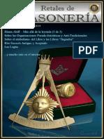 Retales Masoneria Numero 093 - Marzo 2019