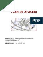 model plan de afaceri bijoux