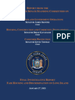 Fair Housing and Discrimination on Long Island Report