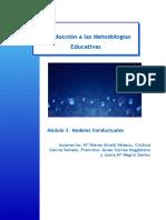 Modulo3. Modelos conductuales
