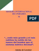 Sistema Internacional de Unidades y sus Unidades derivadas