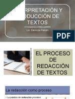 El Proceso de Redaccion de Textos. (1)