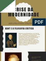 Crise da modernidade