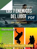 Webinario Gratuito Los 7 Enemigos Del Lider en Una Crisis