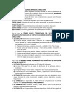 ALCANCES Y PRESENTACION DEL SERVICIO DE CONSULTORIA - BEGAZO