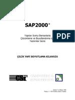 SAP2000 CELIK YAPI BOYUTLAMA KILAVUZU 2002