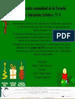 La Escuela de Iniciación Artística  N° 4. Navidad pptx