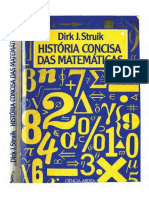História Concisa das Matemáticas - Dirk J. Struik