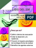 ANALISIS DEL 230