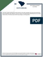 South Carolina State Profile Report 20210124 Public
