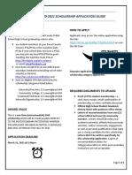 DCCPTA 2020-2021 Application Guide Sheet UPDATED