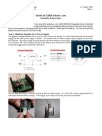 Arm Assembly Instructions