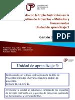 03. Direccion de Proyectos - Unidad 3 2019-I