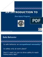 Zero Injury Program - Training Module