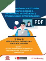 Las Herramientas Digitales en Los Entornos Virtuales Ccesa007